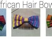 African Hair Bows