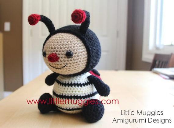 Amigurumi Crochet Pattern - Dottie the Ladybug from ...