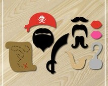 Pirate Party Printable Photo Booth Props