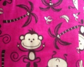 Jungle Monkey Pink in Snu...
