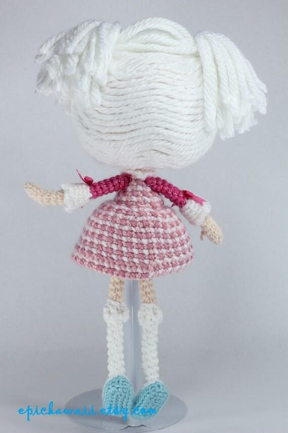 Платье для лалалупси вязаная