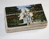 SALE 100 Vintage Used International Postcards