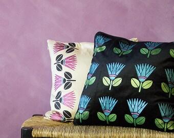 Small Craft Stencil - Modern Tribal Style Decor - African Flower Furniture Stencil Art