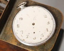 Antique parts of pocket watch, Swiss made mechanical watch