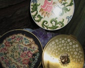 Vintage Powder Compacts and Mirror Compact.  G-356