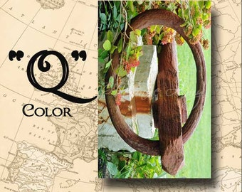Letter Q Alphabet Photography Color 4 x 6 Photo Letter Unframed