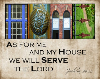 HOME Alphabet Photography with quote or scripture (various sizes)