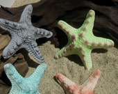 100% Edible Gum Paste Large Starfish Cake Toppers -- Made to Order