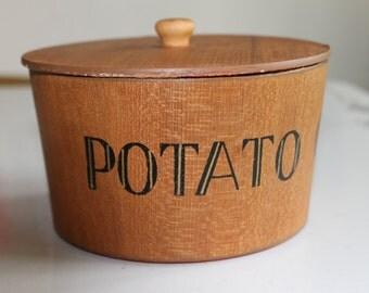Vintage Hand Made Viking Wood Nesting Bowls~Japan~ Potato/Pretzel/Snack/Nuts