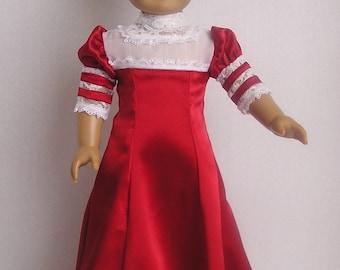 1904 Bolero Soft Satin Dress for American Girl Doll
