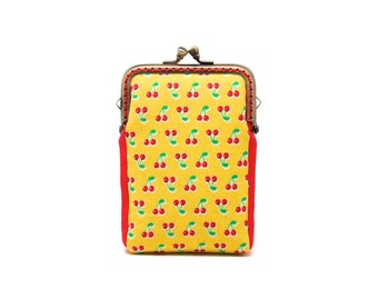 Fruity holidays mini cherries card holder wallet
