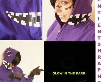 CLEARANCE LARGE Vocaloid Matryoshka Hoodie Gakupo Luka Cosplay Costume Glow in the Dark