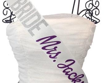 Bride Future Mrs. Bachelorette Sash
