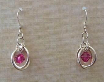 Orbital Chainmaille Earrings
