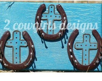 Distressed Turquoise Jewelry Hanger