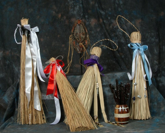 African American Wedding Broom
