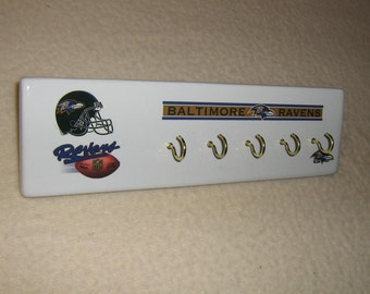 Baltimore Ravens key rack