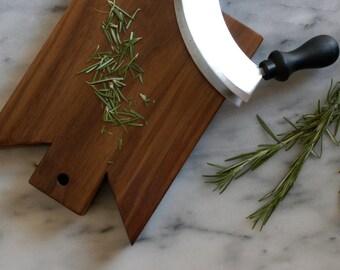 Walnut Garlic and Herb Chopping Board, Prep Board
