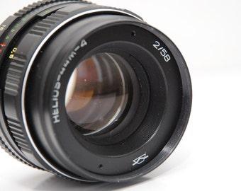KMZ HELIOS 44M-4 58mm /1:2 Russian Soviet Vintage UsSR Lens Zenit Pentax Canon