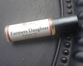 FARMER'S DAUGHTER - Premium Artisan Perfume Oil in a Roll-on Bottle pumpkin apple fig oakmothers day