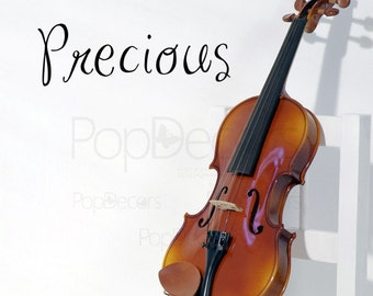 Precious - Words and Letters Decal