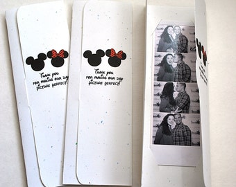 Mouse Ears Photo Booth Picture Holder Party Favors