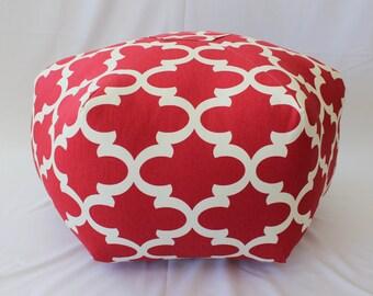 """24"""" Ottoman Pouf Floor Pillow Fynn"""