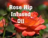 Organic and Kosher certified Rose Hip infused oil (Sweet Almond) - 2 oz.