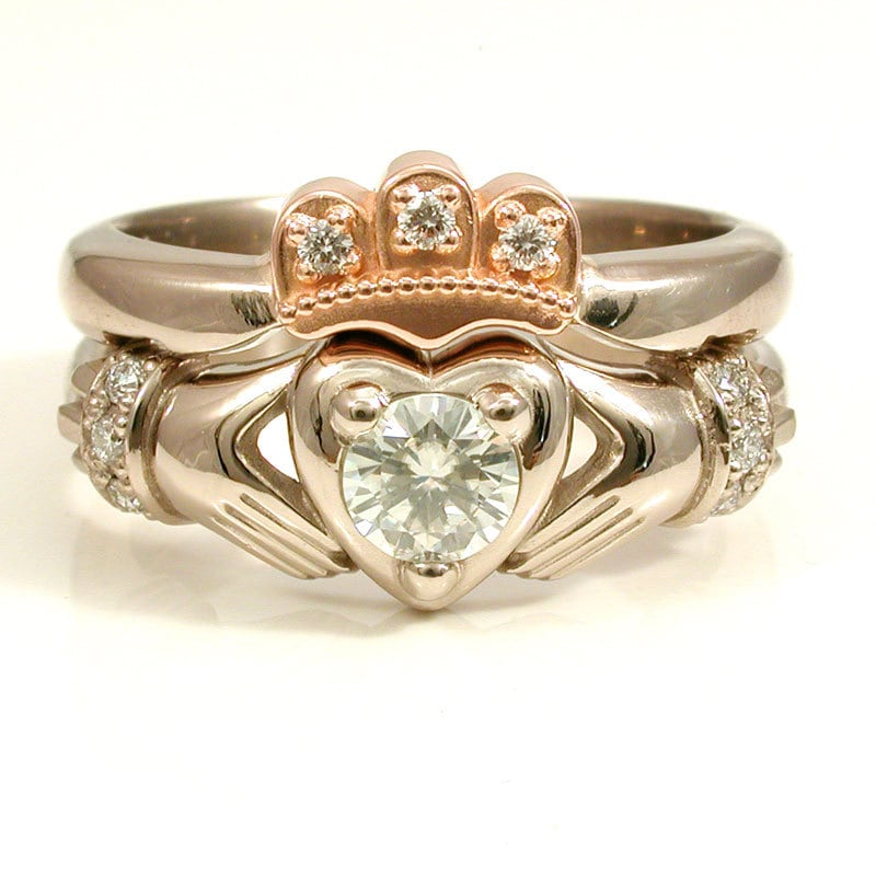 claddagh engagement ring - photo #5