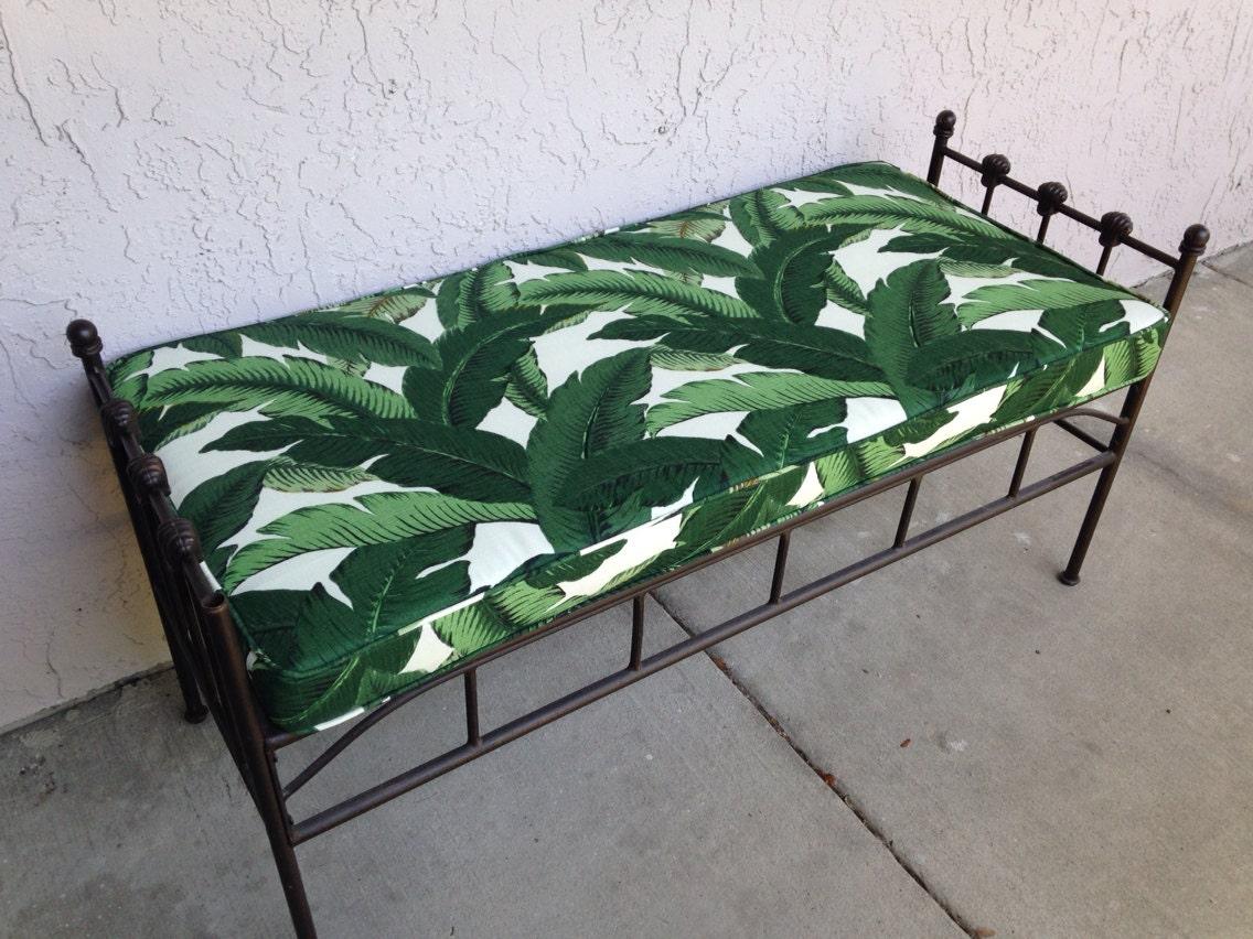 coussin banc se balan ant palmiers int rieur ext rieur tissu. Black Bedroom Furniture Sets. Home Design Ideas