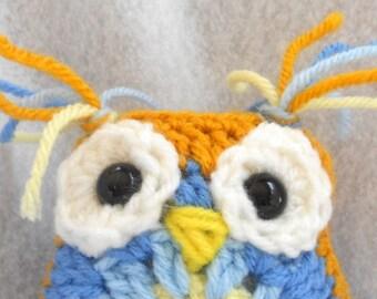 Hoot the crochet owlie
