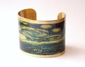 Starry Night Van Gogh cuff bracelet