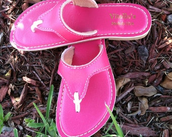 Blush Hot Pink Ladies Flip Flop / Sandal