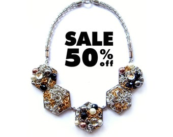 SALE : The 4th Treasure Necklace, The Treasure Collection