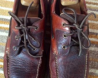 Vintage leather LL Bean shoes M12