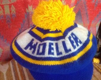 1980's Moeller High School knit hat USA