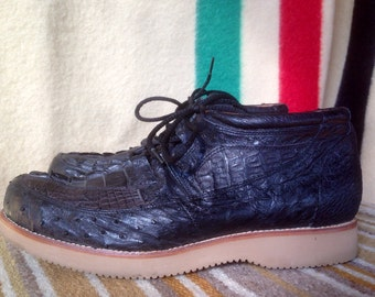 Rare vintage Alligator desert chukka boots USA vibram