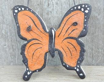 Monarch Salt Dough Butterfly Ornament / Butterfly Favors / Party