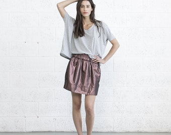 Metal Skirt - Bronze