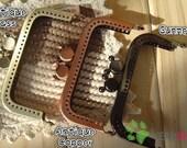 Rectangle Mickey Purse Frame - 8.5cm / 3.3 inch (RPF-4) - Set of 3