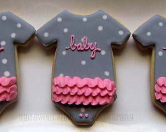 Baby Shower cookies 2 dozen