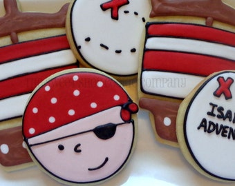 Pirate cookies 2 dozen