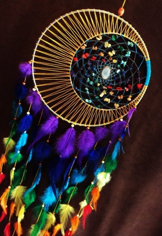 dream catcher chakra moon moon motions signature by ForDreamcatcher Beads Meaning