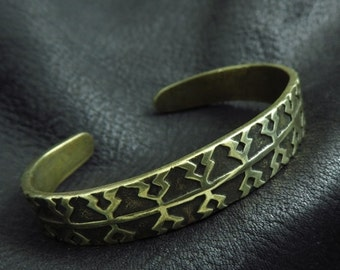 Bronze Viking bracelet from Gotland