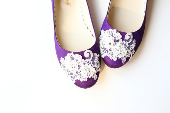 Purple Flat Wedding Shoes uk Wedding Flat Shoes Purple