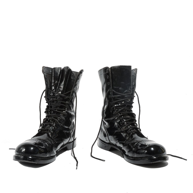 Men S Size 12 E Vintage Corcoran Jump Boots Black Combat