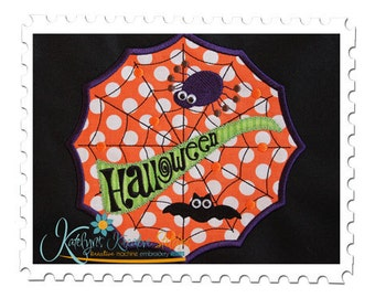 Halloween Web Applique