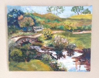 Original Painting - Streamside Path