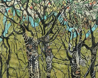 Tree Print Giclee From an Original Painting