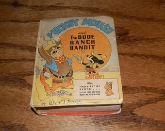 Walt Disney's Mickey Mouse and the Dude Ranch Bandit...Better Little Book 1943